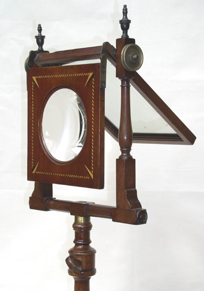 zograscope - lens and mirror